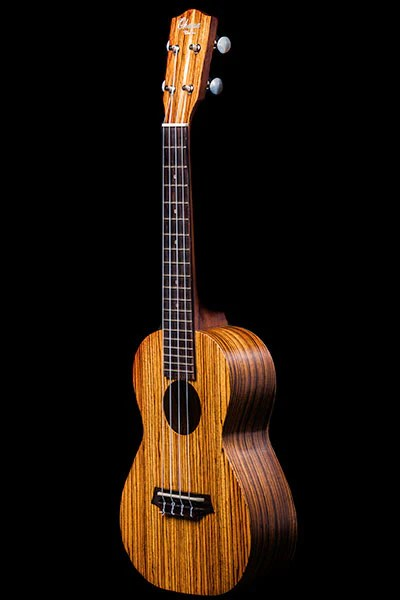 Ohana_ukuleles_zebrawood_concert_front_CK-15Z