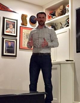 Mark Piscitelli sharing how his retreat experience impacted him.