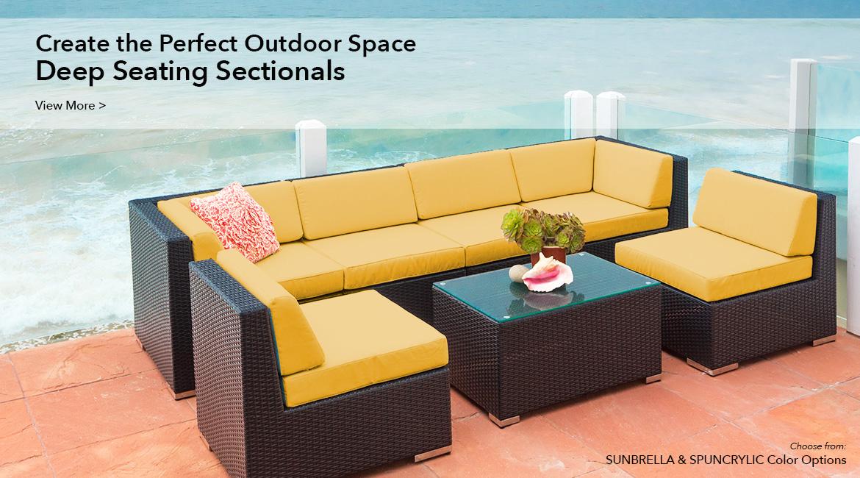 ohana furniture all weather patio wicker furniture