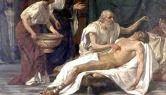 St. Sebastian, Giuseppe Sciuti (1832-1911), oil on canvas, Museo Civico, Catania, Sicily.