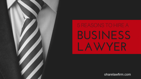 5 Reasons You Might Need a Business Lawyer