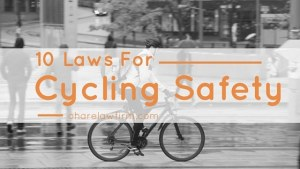 Bicycling Laws and Safety Tips