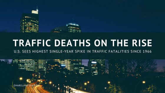 Traffic Fatalities are On the Rise