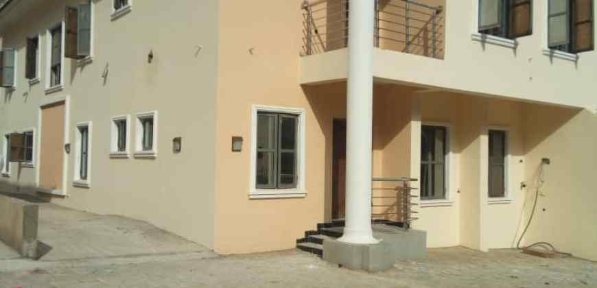 4 – bedroom Semi Detached  Duplex with 1 Room Boys' Quarter