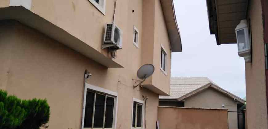 Exquisitely Finished 4 Bedroom Semi-Detached Duplex with 2 Room Guest Chalet