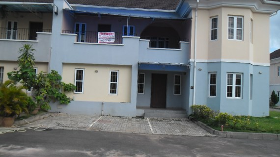 5-Bedroom Semi Detached Duplex with 1 Room Boys Quarter