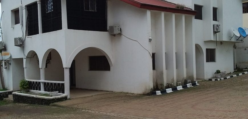 5-Bedroom Detached Duplex with 2-Rooms Boy's Quarter