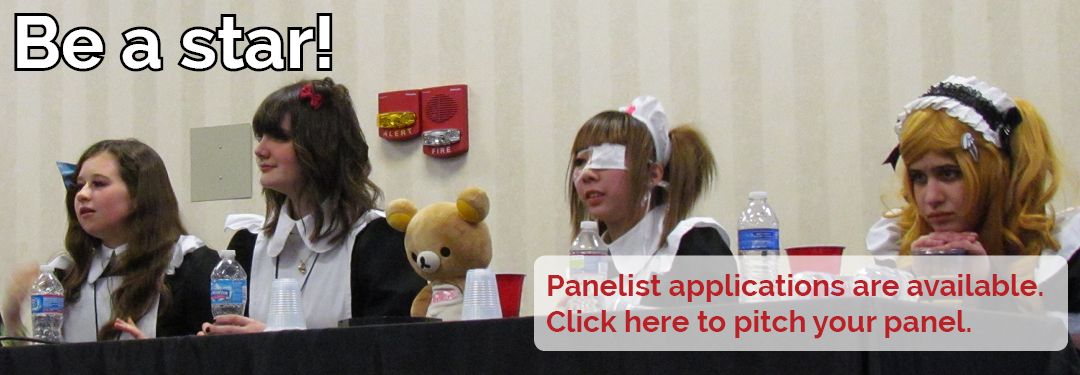 Be a star! Panelist applications are available. Click here to pitch your panel.