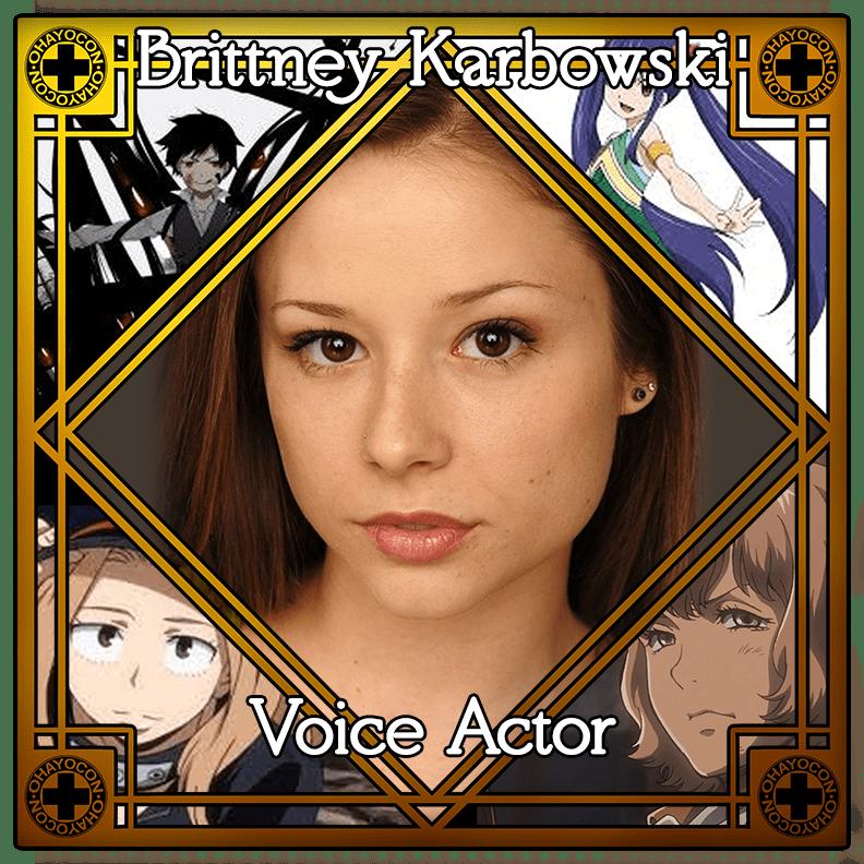 Brittney Karbowski Voice Actor