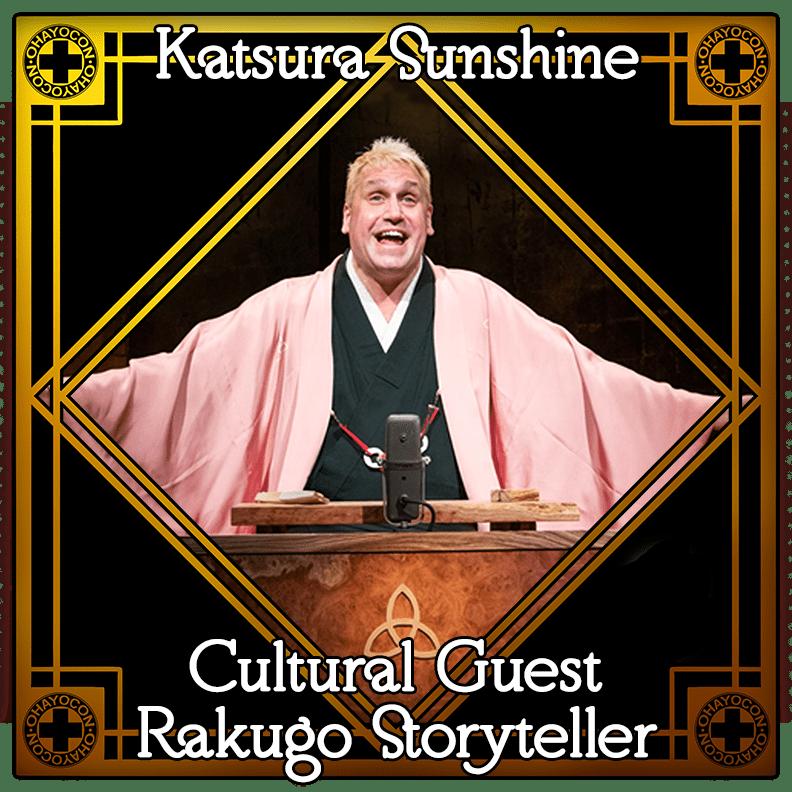 Katsura Sunshine Cultural Guest Rakugo Storyteller