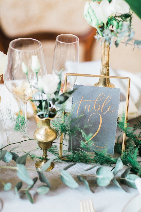 18 Inspiring Wedding Table Number Ideas To Love Oh Best Day Ever