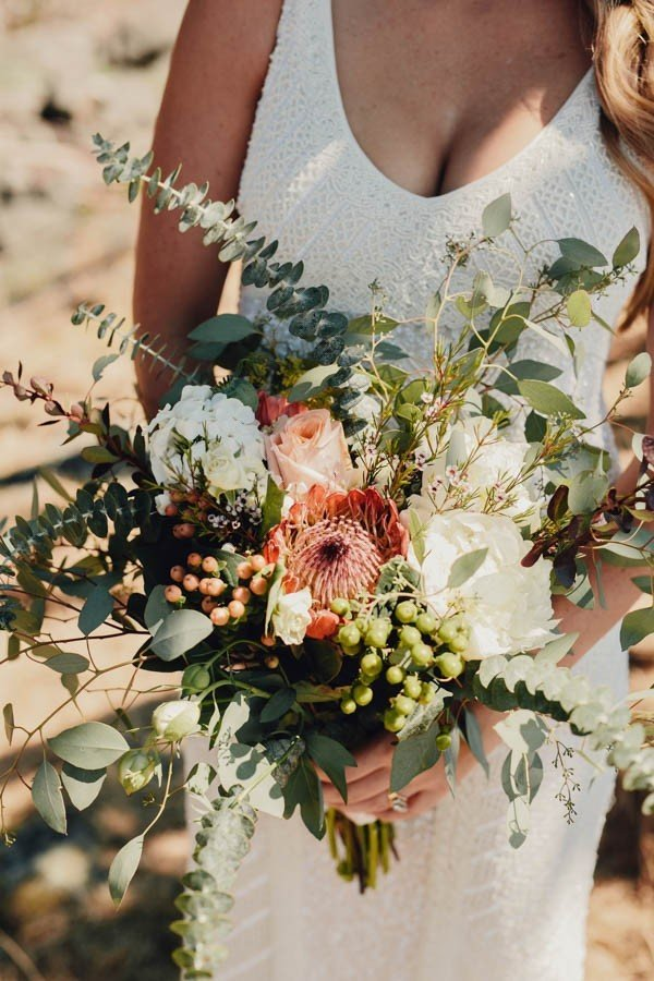 Fall Beach Wedding Colors