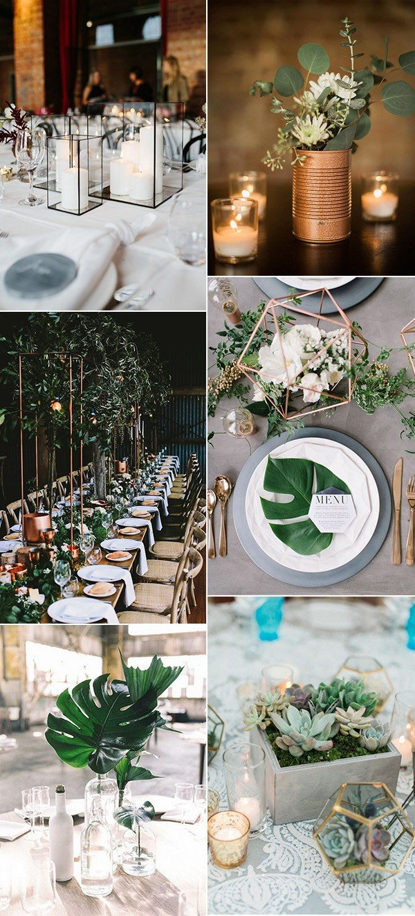 Trending 12 Industrial Wedding Centerpiece Ideas For 2018 Oh Best Day Ever
