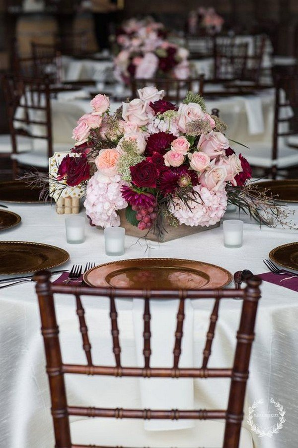 Fall Wedding Tablescapes