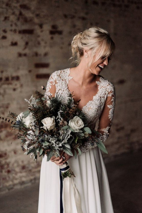 Top 25 Moody Wedding Bouquets For 2018 Trends Oh Best Day Ever