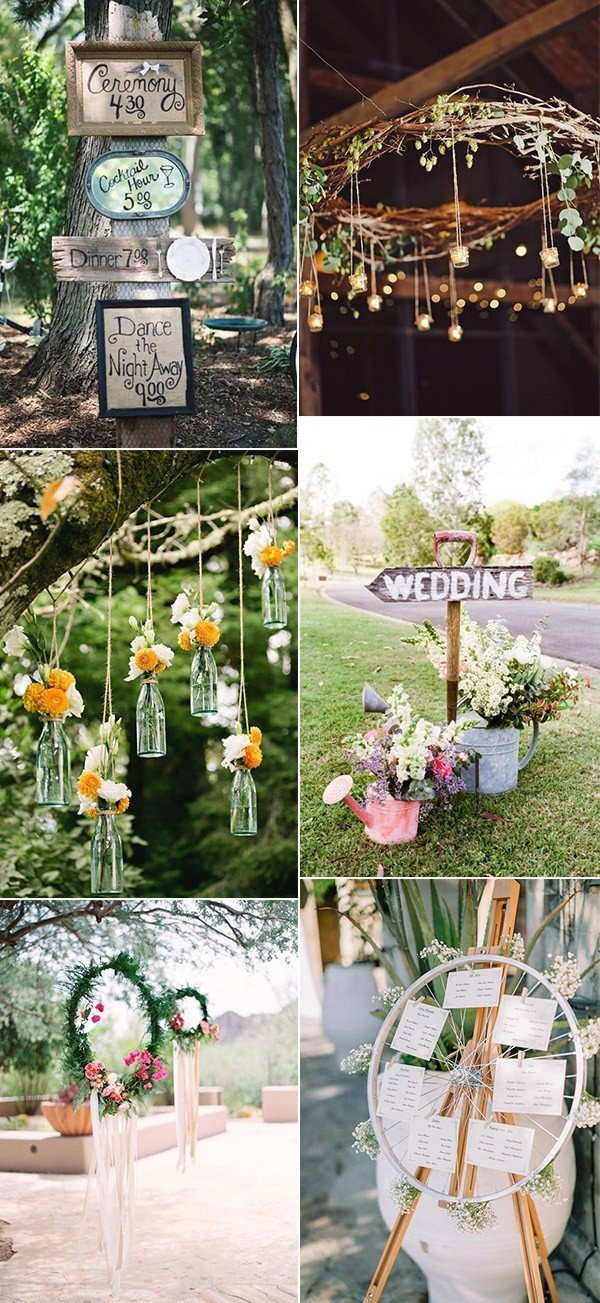 Boho Chic Outdoor Wedding Decoration Ideas Oh Best Day Ever
