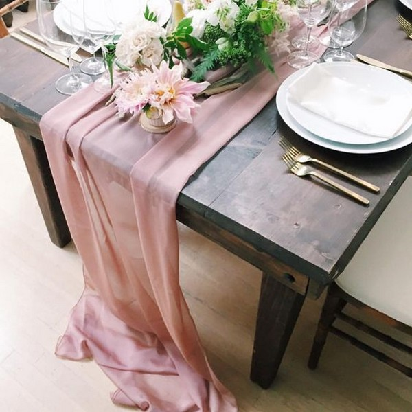 27 Amazing Table Runner Ideas For Your Wedding Reception Oh Best Day Ever