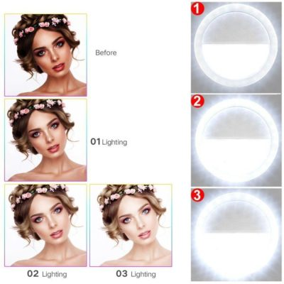 Selfie Ring Light from Amazon under $10