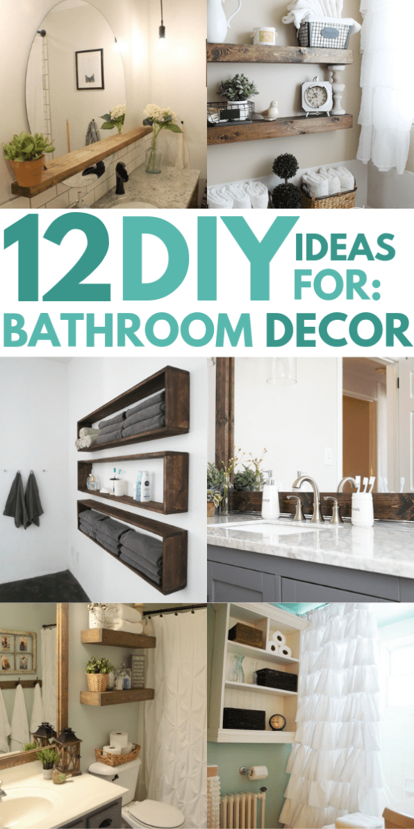 12 DIY Bathroom Decor Ideas On a Budget You Can\'t Afford to ...