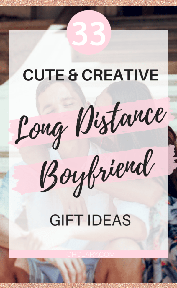 33 Cute Gifts For Long Distance Boyfriend To Surprise Your Man With