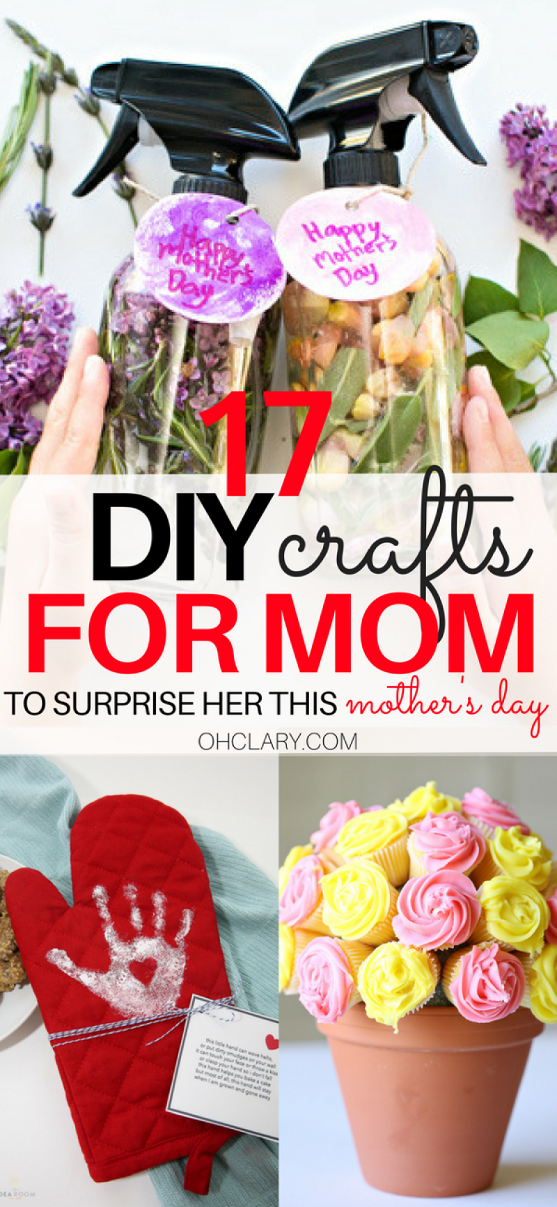 Looking for inexpensive and easy handmade gift ideas to make for your mom? Check out my post on 17 Handmade Mother's Day Gifts your mom will love! These DIY Mother's Day crafts are sure to bring a smile to your moms face. handmade mothers day gifts | diy mothers day crafts | handmade mothers day gifts from kids | handmade mothers day cards | diy mothers day gifts for grandma | diy mothers day gifts from kids easy | diy mothers day presents #mothersdaygift #diygifts