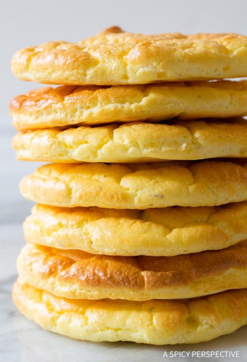 Keto Cloud Bread #lowcarb #ketobread # #lowcarbsnack #lowcarbbread #lowcarbrecipes #keto #bestketobread