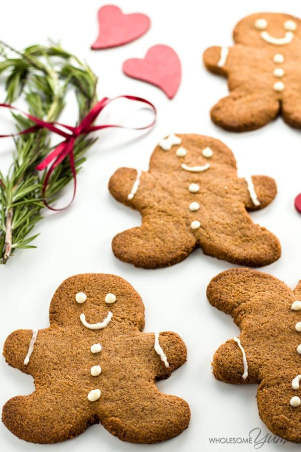 Sugar-Free Gingerbread Cookies - 10 MUST TRY Keto Christmas Cookies Your Whole Family Will Love. Made with almond flour, stevia, cream cheeses and peanut butter. They are so easy anyone can do them. No baking experience needed. Perfect for Christmas of 2018. These keto cookies are what dreams are made of!