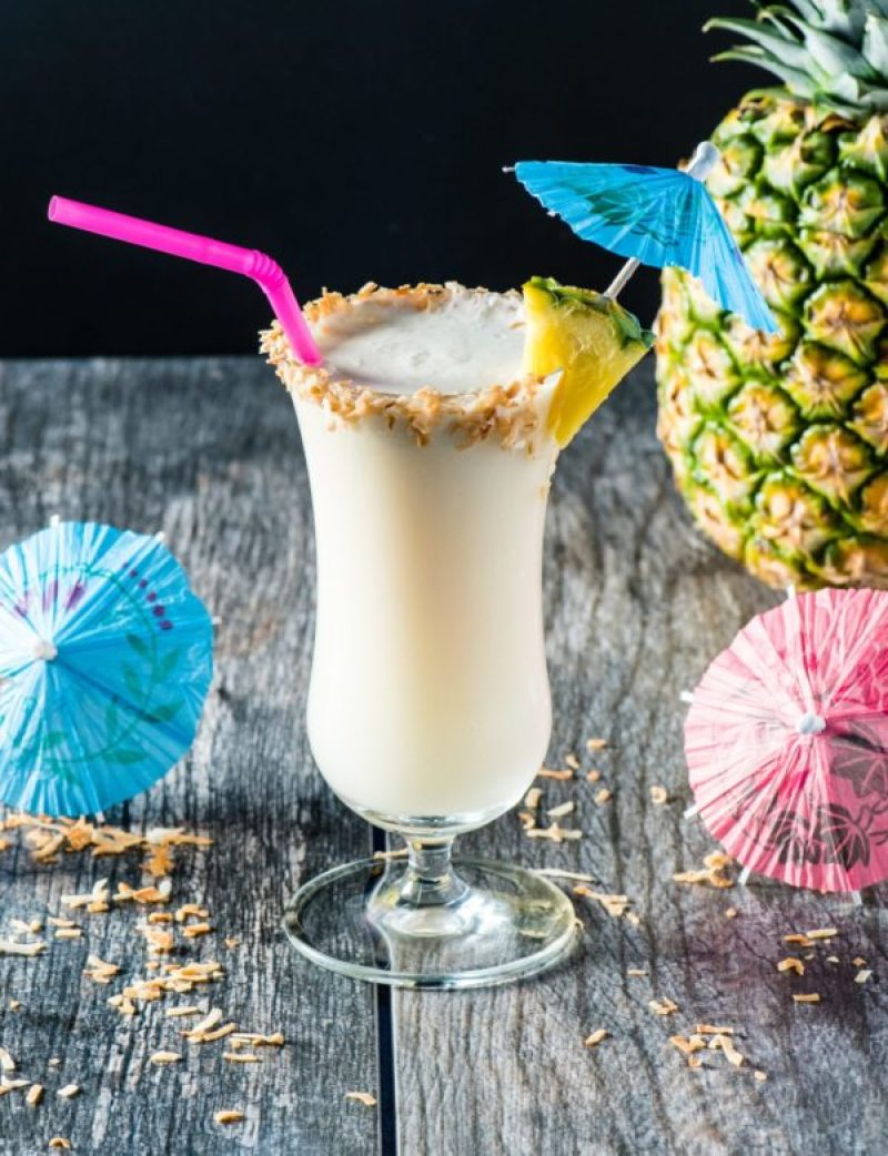 Low Carb Keto Pina Colada - Uhmm, cocktails on the keto diet? Heck yeah!! This post includes 13 EASY keto cocktails (low carb cocktails) that taste incredible without the carbs! This post includes such a huge selection of keto recipes. Click through to see the best keto cocktail recipes you've ever tried before! #keto #ketogenic #ketodiet #ketorecipes #ketococktails #lowcarbcocktails