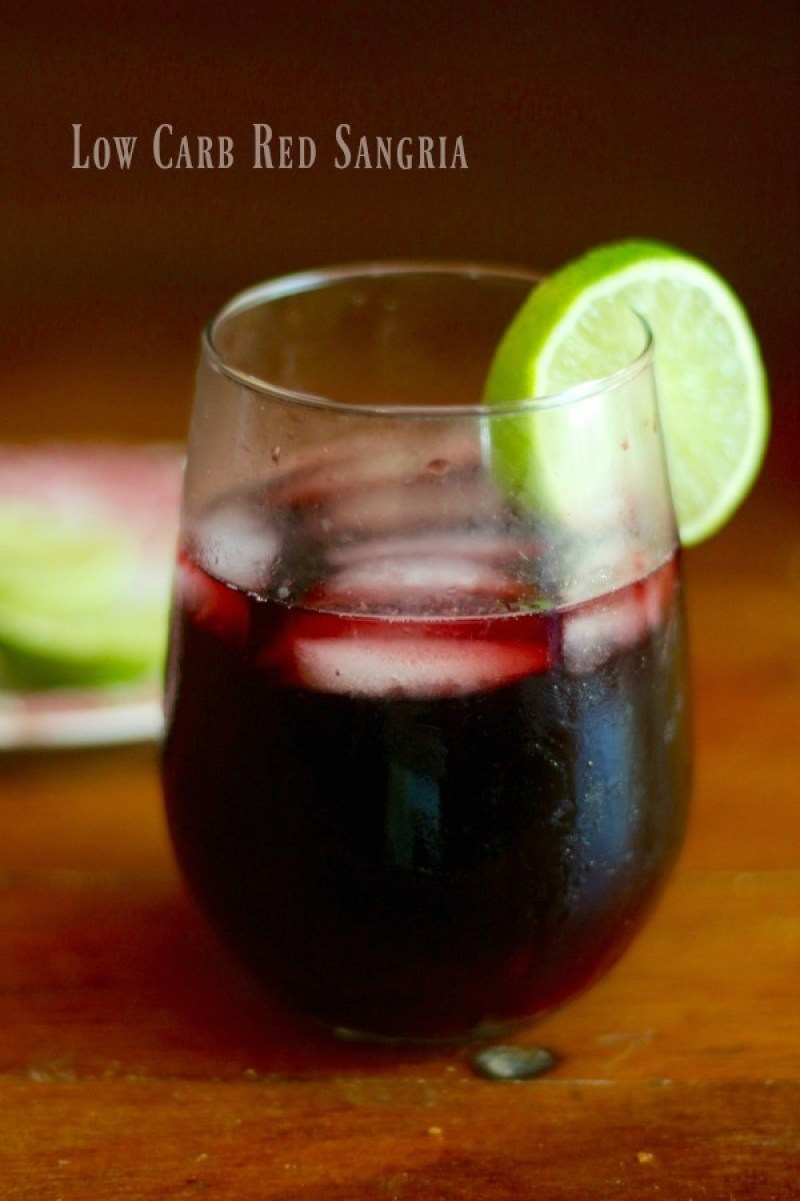 Low Carb Red Sangria - Uhmm, cocktails on the keto diet? Heck yeah!! This post includes 13 EASY keto cocktails (low carb cocktails) that taste incredible without the carbs! This post includes such a huge selection of keto recipes. Click through to see the best keto cocktail recipes you've ever tried before! #keto #ketogenic #ketodiet #ketorecipes #ketococktails #lowcarbcocktails