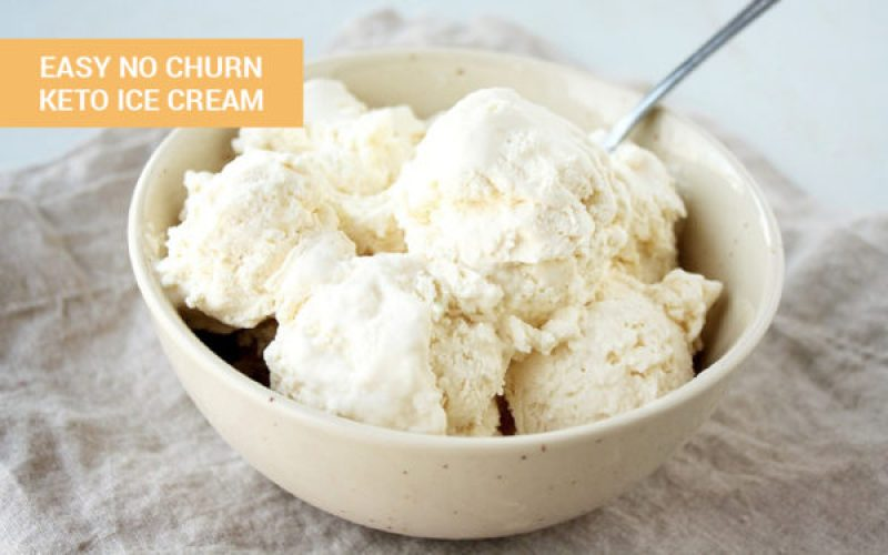 Easy No Churn Keto Ice Cream - Only 3 Ingredients!! - 10 Easy to make no churn keto ice cream to satisfy your sweet tooth. These recipes include chocolate keto ice cream, vanilla, strawberry and mint choc chip as well as a mason jar keto ice cream. #ketoicecream #ketodessert #nochurnicecream #lchf #lowcarbicecream #keto