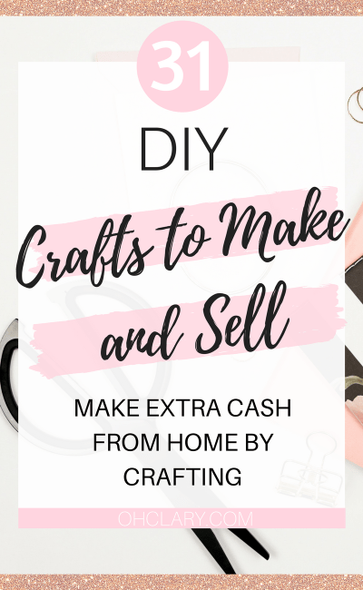 Selling Your Crafts Can Be Very Profitable If Only You Knew What To Make That
