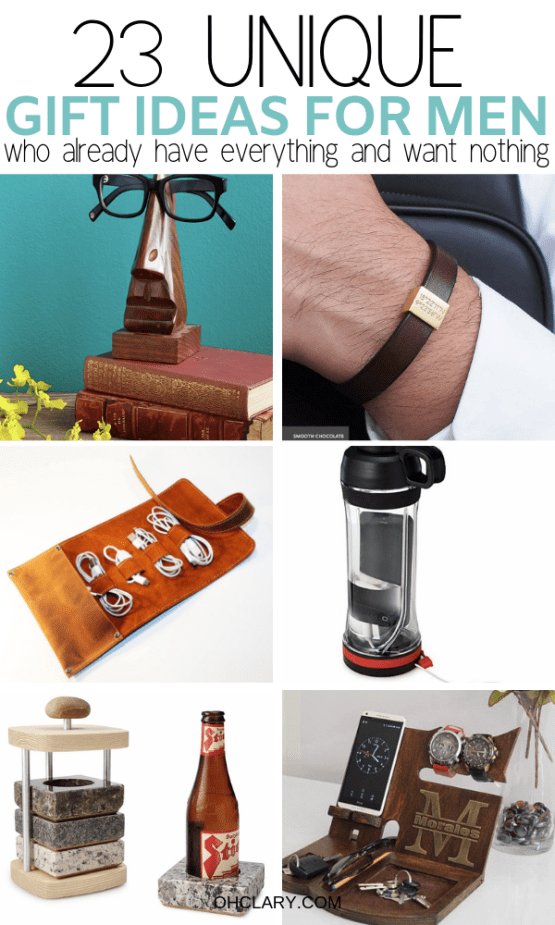 d428e049a32cf 23 Unique Gift Ideas for Men Who Have Everything - Best Gifts For ...