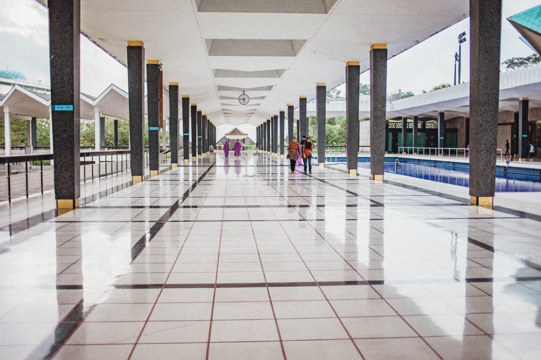 Nationalmoskén i Kuala Lumpur
