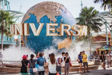 En heldag på Universal Studios i Singapore