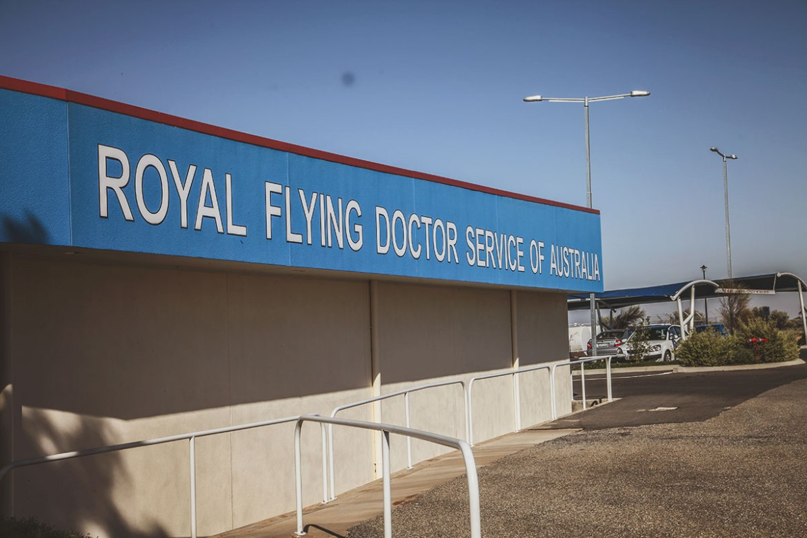 Royal Flying Doctors Service Base in Broken Hill, New South Wales, Australia