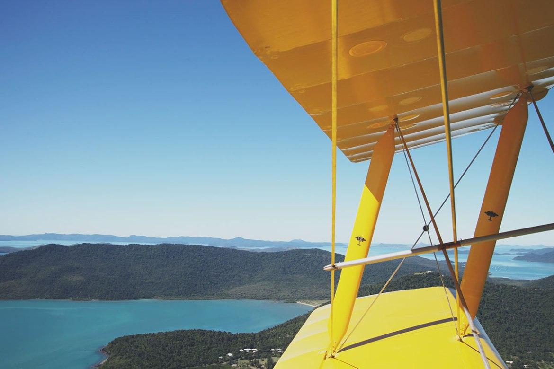Tiger Moth - Äventyr uppe i det blå - Airlie Beach, Australien