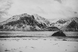 Haukland Beach - en vacker, romantisk strand i Norge