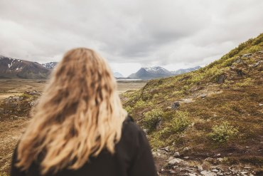 Hoven - 368 meter över havet i Lofoten