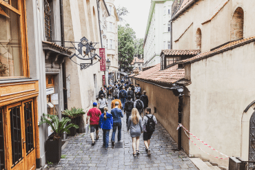Free Walking Tour i Prag