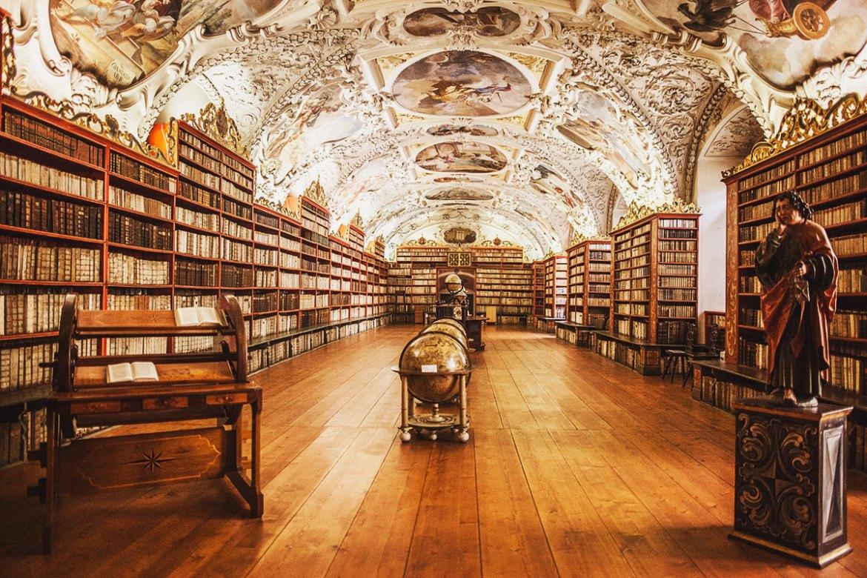 Strahovklostret Prag