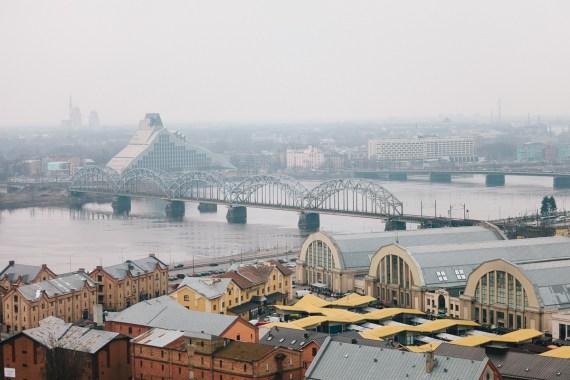 Bästa utsikten i Riga