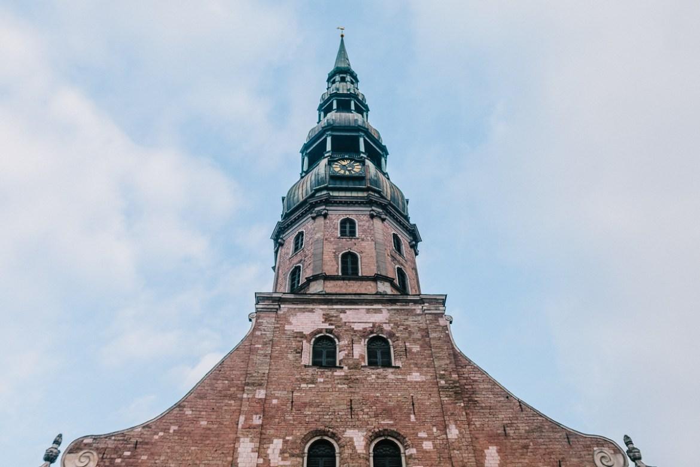 St Peterskyrkan, Riga-3