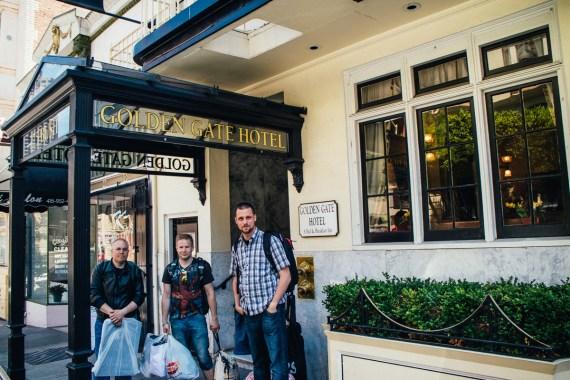 Checka in: Golden Gate Hotel i San Francisco