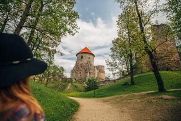 Cesis - bland slott och medeltid