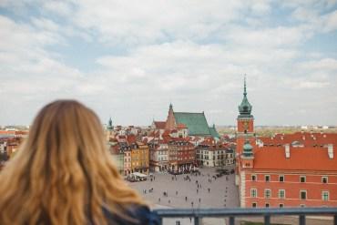 En långhelg i Warszawa