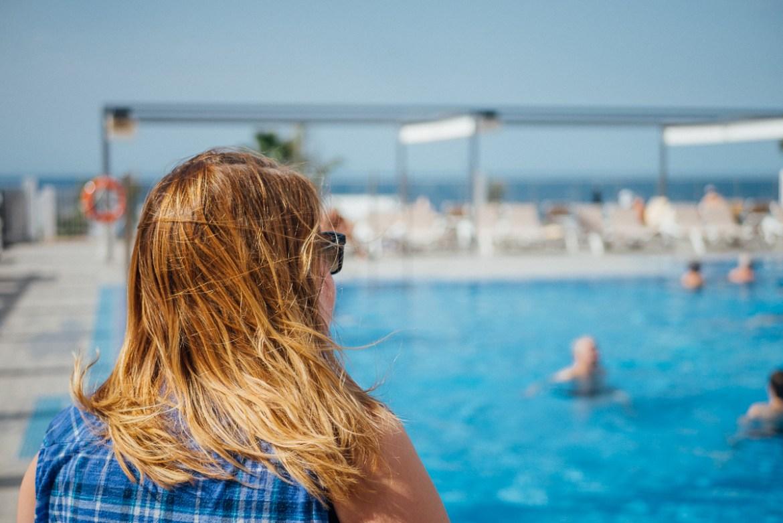 Det blåste lite på Gran Canaria