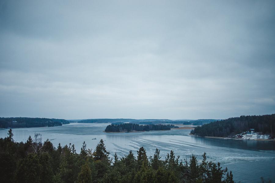 Uffe på berget, Åland