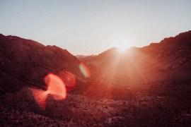 Att vakna upp med världen i Valley of Fire