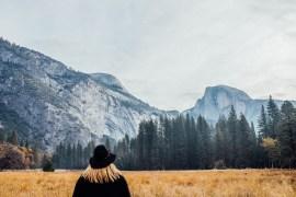 En video från Yosemitetsikter och sightseeing