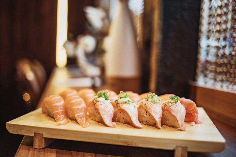 Sushi på Hanami